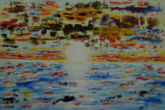 The Sea mirror of the Sky 80 x120 - 500 euro