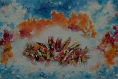 Flowers in the Clouds 60x90 - 375 euro