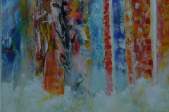 Forest in colors 60x90 - 375 euro