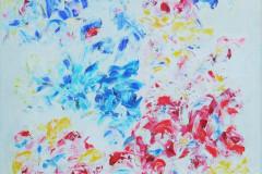 My way Flowers 90x70 - 400 euro