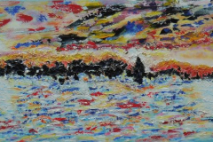 Sky in the sun  50x120  Sold