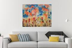Stormflowers 90x70 - 400 euro