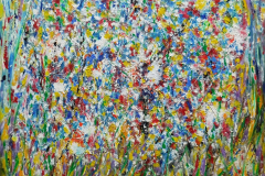 Flower explosition 80x100 Sold