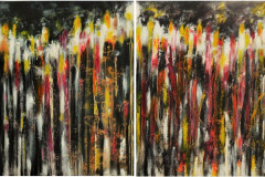 trees on fire 140x90 (2st) - 570 euro